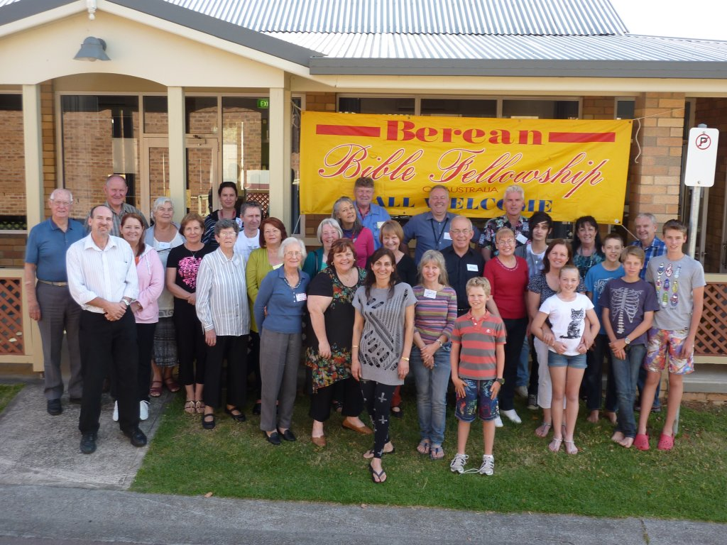 Some of the attendees at Conference on the Sunday.