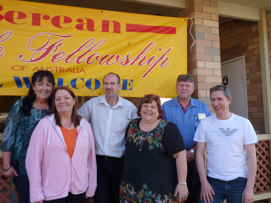 Members of the outgoing administrative Committee, 2010-13 (Allan Gallaher absent from this photo).