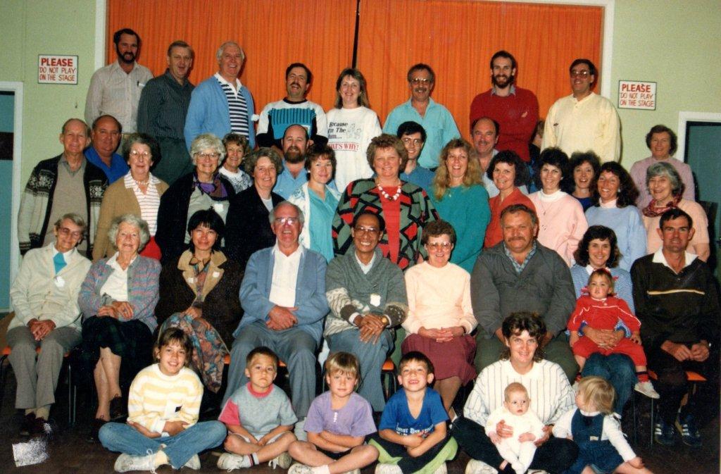1989 - BBFA Conference at Hazelbrook. Guest speakers were Santiago Chua and Ken Cooney.