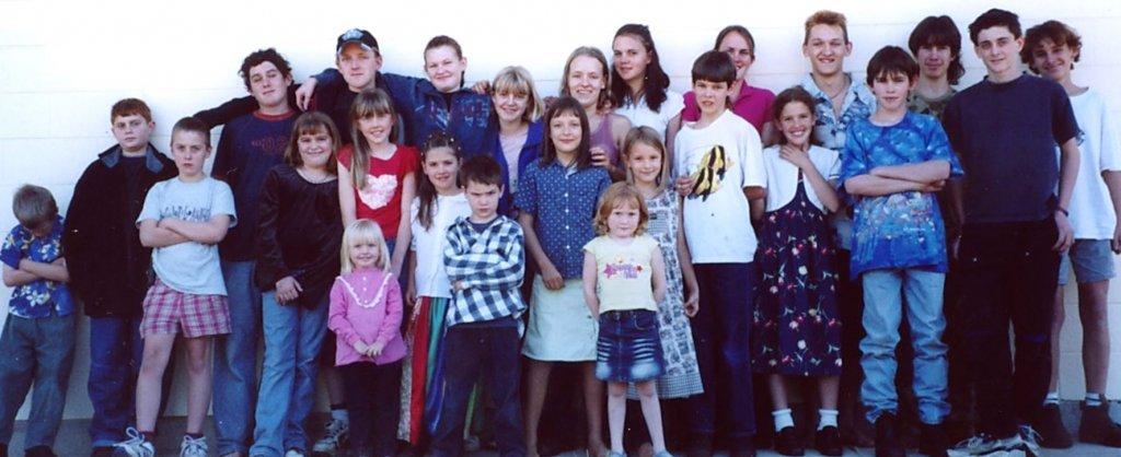 2003? - Children at Brisbane meeting.