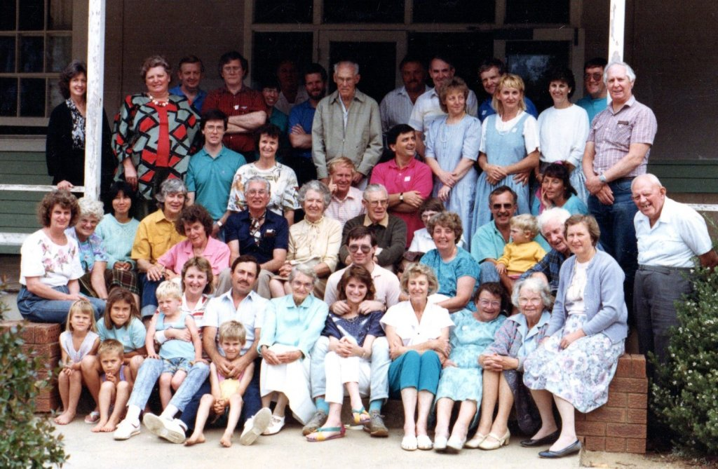 1988 - BBFA Conference at Hazelbrook NSW. Guest speaker was Fred Ralph from the Berean Forward Movt, U.K.