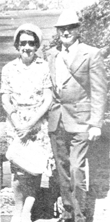 1976 - Les and Betty Argent, long time supporters of the BBFA.