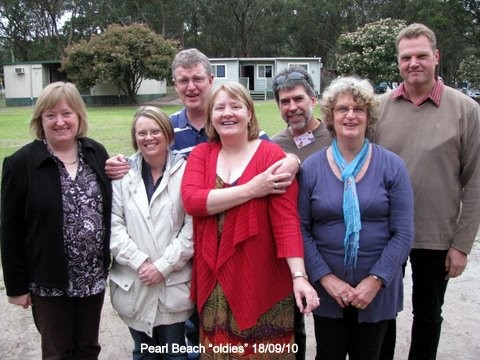 2010 - A reunion of some of the group that used to meet at Pearl Beach NSW.