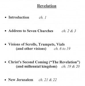 Revelation - Outline