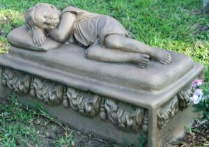 Gravestone - Child Asleep